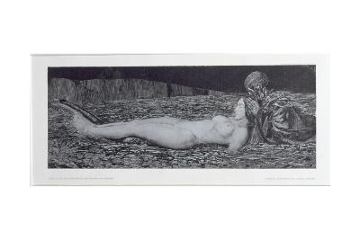 One Corpse, from the Cycle 'Death and the Maiden'-August Bromse-Giclee Print