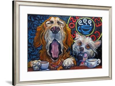 One Cup Shy-Connie R. Townsend-Framed Art Print