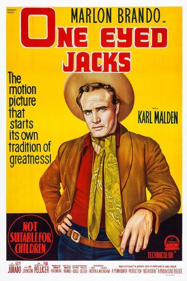 One-Eyed Jacks, Marlon Brando, 1961--Art Print