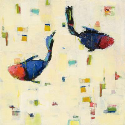 One Fish Two Fish Big-Phyllis Adams-Art Print