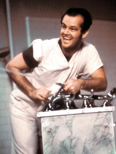 One Flew Over The Cuckoo's Nest, Jack Nicholson, 1975--Photo