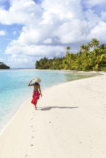 One Foot Island, Aitutaki, Cook Islands (Mr)-Matteo Colombo-Photographic Print