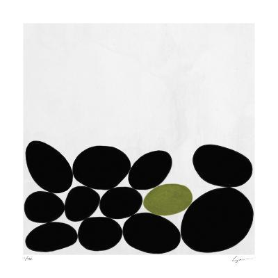 One Green Stone-Yuko Lau-Giclee Print
