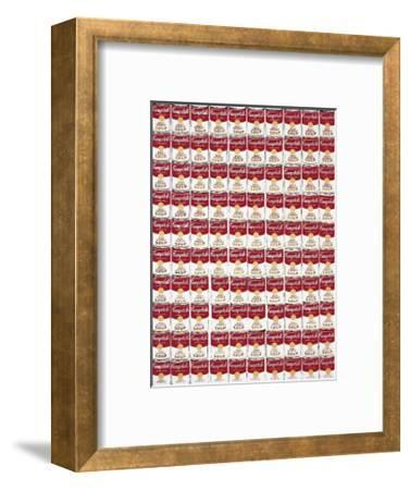 One Hundred Cans, c.1962-Andy Warhol-Framed Giclee Print