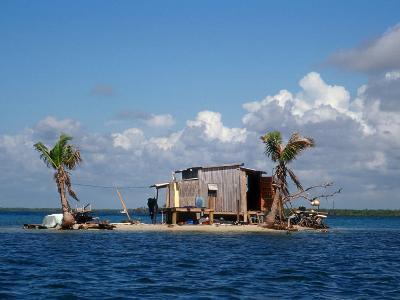 One Man Island off Placencia, Belize-Yvette Cardozo-Photographic Print