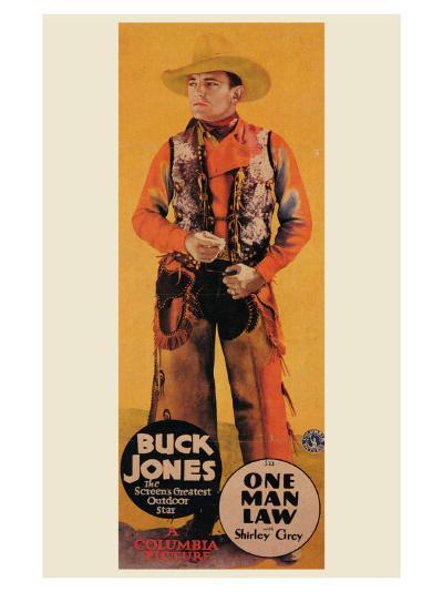 One Man Law, 1932--Art Print