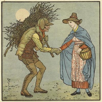 One Misty, Moisty Morning-Walter Crane-Giclee Print