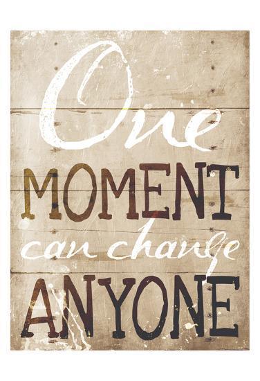One Moment-Jace Grey-Art Print