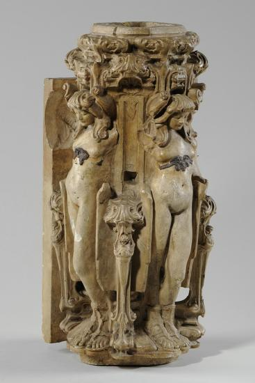 One of 9 Maquettes for the Sam Wilson Chimneypiece, C.1908-14-Alfred Gilbert-Giclee Print