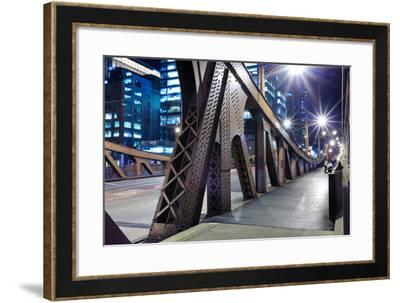 One of Bridge in Downtown of Chicago-TEA-Framed Photographic Print