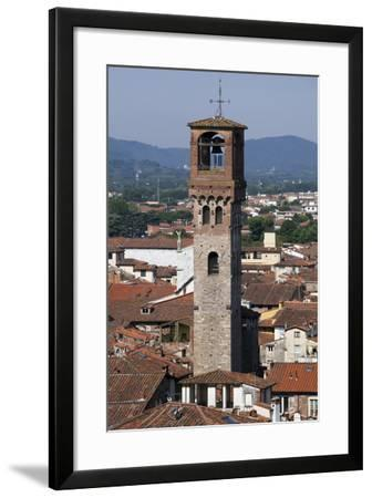 One of Many Towers in the City of Lucca, Italy-Scott Warren-Framed Photographic Print
