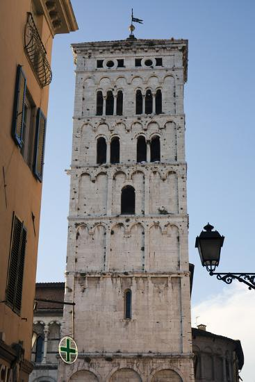One of Many Towers That Rise Above the City in Lucca, Italy-Scott Warren-Photographic Print