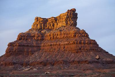 One of Several Large Monuments in the Valley of the Gods in Southeastern Utah-Scott S^ Warren-Photographic Print