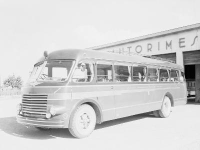 One of the Bologna City Buses-A^ Villani-Photographic Print