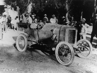 One of the Competitors at the Mont Ventoux Hill Climb, Provence, France, 1911--Photographic Print