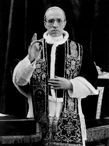 One of the First Pictures of Pope Pius XII after His Coronation, Rome, 1939