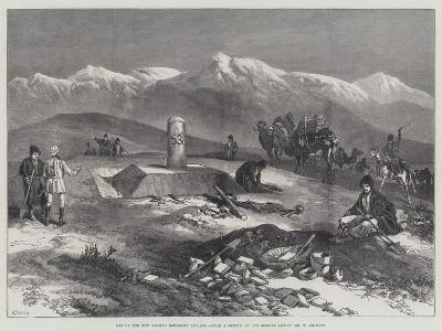 One of the New Afghan Boundary Pillars-William 'Crimea' Simpson-Giclee Print