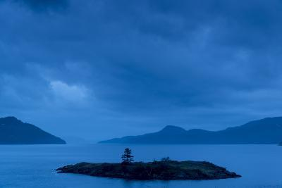 One of the San Juan Islands at Twilight-Michael Melford-Photographic Print