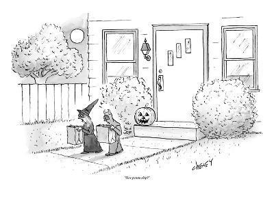 """""""One potato chip?"""" - New Yorker Cartoon-Tom Cheney-Premium Giclee Print"""