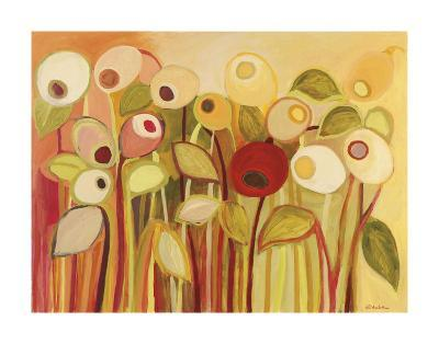 One Red Posie-Jennifer Lommers-Art Print