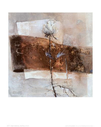 One Rose-Heleen Vriesendorp-Art Print