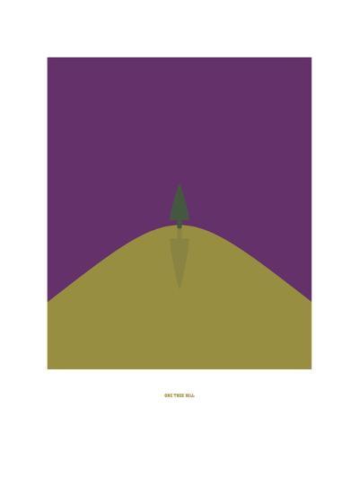 One Tree Hill-Christophe Gowans-Giclee Print