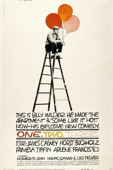 One, Two, Three, 1961, Directed by Billy Wilder--Giclee Print