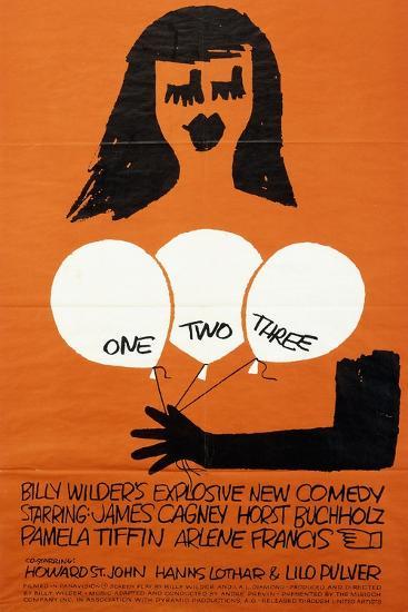 One, Two, Three, 1962--Giclee Print