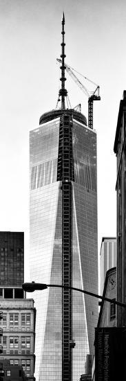 One World Trade Center (1WTC), Manhattan, New York, Vertical Panoramic View-Philippe Hugonnard-Photographic Print