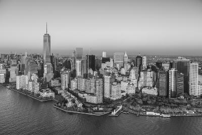 One World Trade Center and Lower Manhattan, New York City, New York, USA-Jon Arnold-Photographic Print