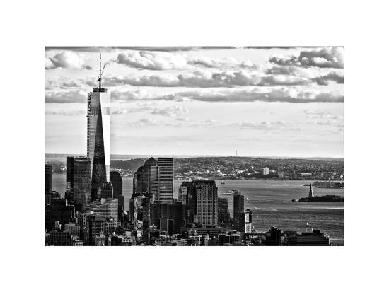 One World Trade Center And Statue Of Liberty Views Manhattan New