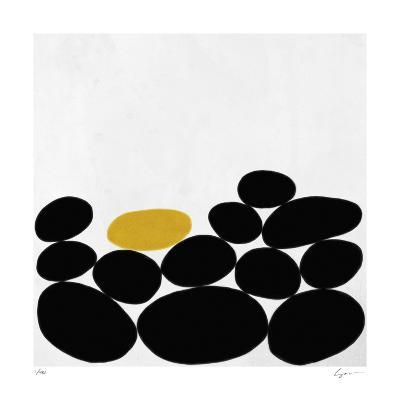 One Yellow Stone-Yuko Lau-Giclee Print
