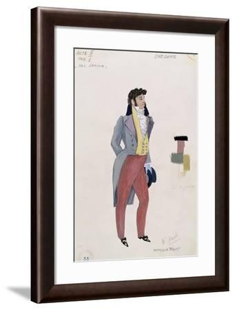 Onegin, from the Opera 'Eugene Onegin' by Peter Ilich Tchaikovsky--Framed Giclee Print