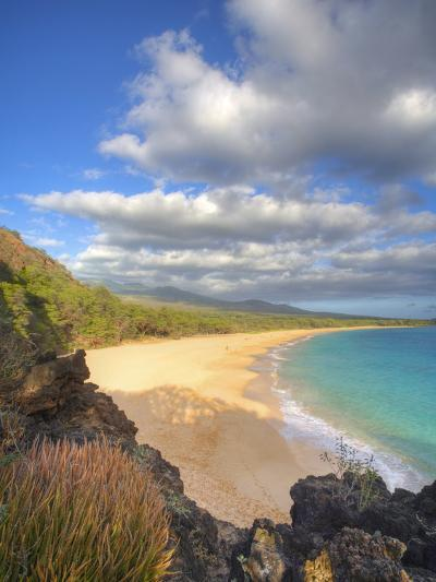 Oneloa Beach in Makena State Park on Maui-Ron Dahlquist-Photographic Print