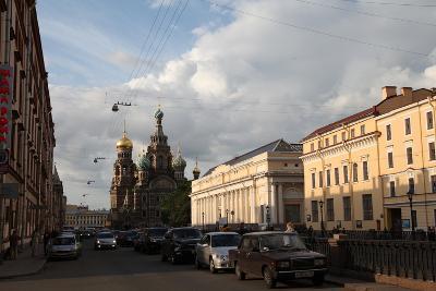 Onion Dome, Church of the Saviour on Blood, St Petersburg, Russia, 2011-Sheldon Marshall-Photographic Print