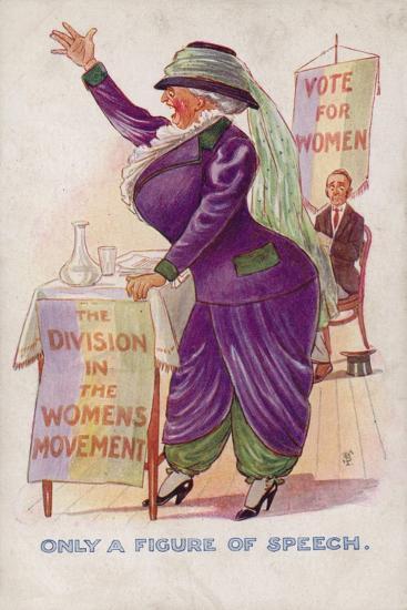 Only a Figure of Speech--Giclee Print