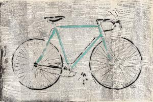 Bicycle on news by OnRei