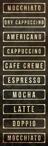 Coffee List by OnRei