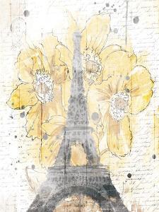 Eiffel Bloom Yellow by OnRei