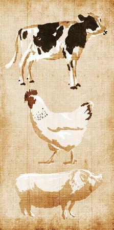 Farm Animals by OnRei