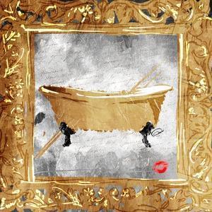 Golden Bath Kiss Mate by OnRei
