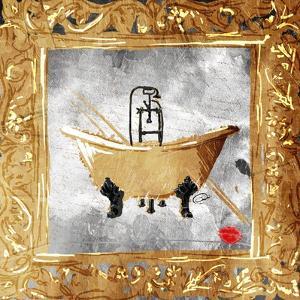 Golden Bath Kiss by OnRei