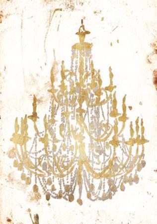 Golden Chandeliers by OnRei