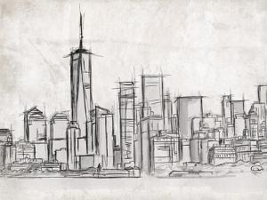 NY Skyline by OnRei