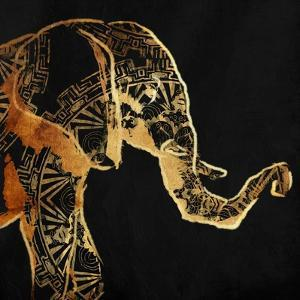 Patterned Elephant by OnRei