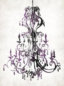 Purple Chandelier by OnRei