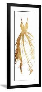 Runway Gold Dress by OnRei
