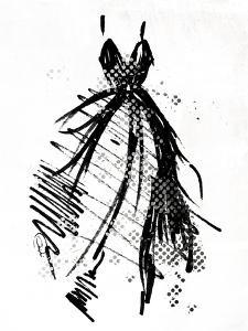 Silver Runway Dress by OnRei