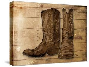 Sketched Boots by OnRei