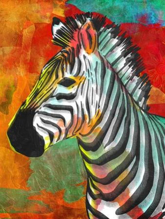 Vibrant Zebra by OnRei